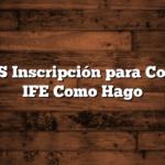 ANSES Inscripción para Cobrar el IFE  Como Hago
