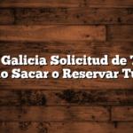 Banco Galicia Solicitud de Turnos  Como Sacar o Reservar Turno