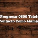 Becas Progresar 0800 Telefono de Contacto  Como Llamar