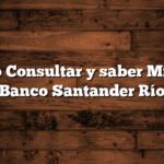 Cómo Consultar y saber Mi CBU Banco Santander Río