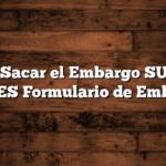 Cómo Sacar el Embargo SUAF de ANSES  Formulario de Embargo