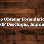 Como Obtener Formulario 152 AFIP  Descargar, Imprimir
