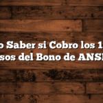 Como Saber si Cobro los 15 mil pesos del Bono de ANSES