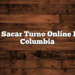 Como Sacar Turno Online Banco Columbia