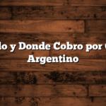 Cuando y Donde Cobro por Correo Argentino