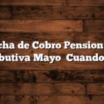 Fecha de Cobro Pension no Contributiva Mayo   Cuando Cobro