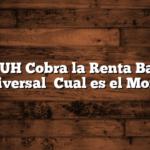 La AUH Cobra la Renta Basica Universal   Cual es el Monto