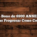 Nuevo Bono de 6900 ANSES para Becas Progresar  Como Cobrar