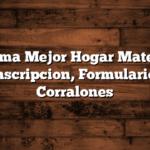 Programa Mejor Hogar Materiales: Inscripcion, Formulario, Corralones