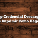 Renatep Credencial Descargar PDF e Imprimir  Como Hago